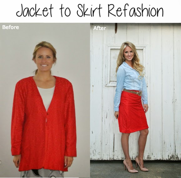 Blog with tons of refashion ideas.