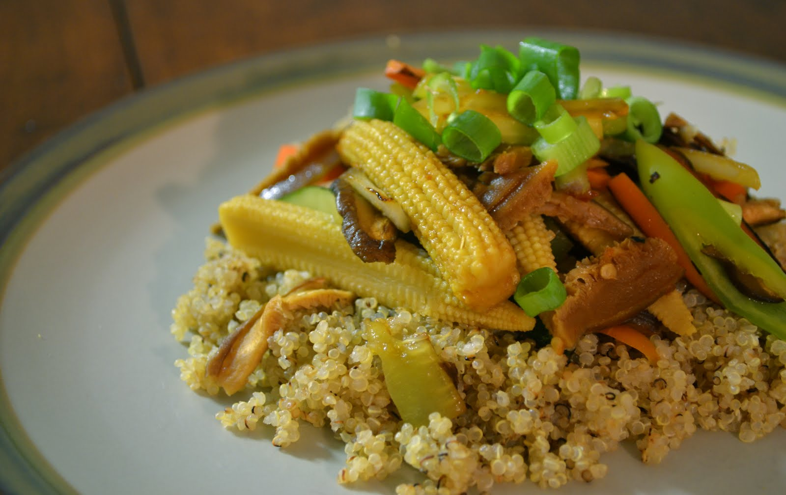 Veggies For Real: Summer Stir-Fry with Quinoa
