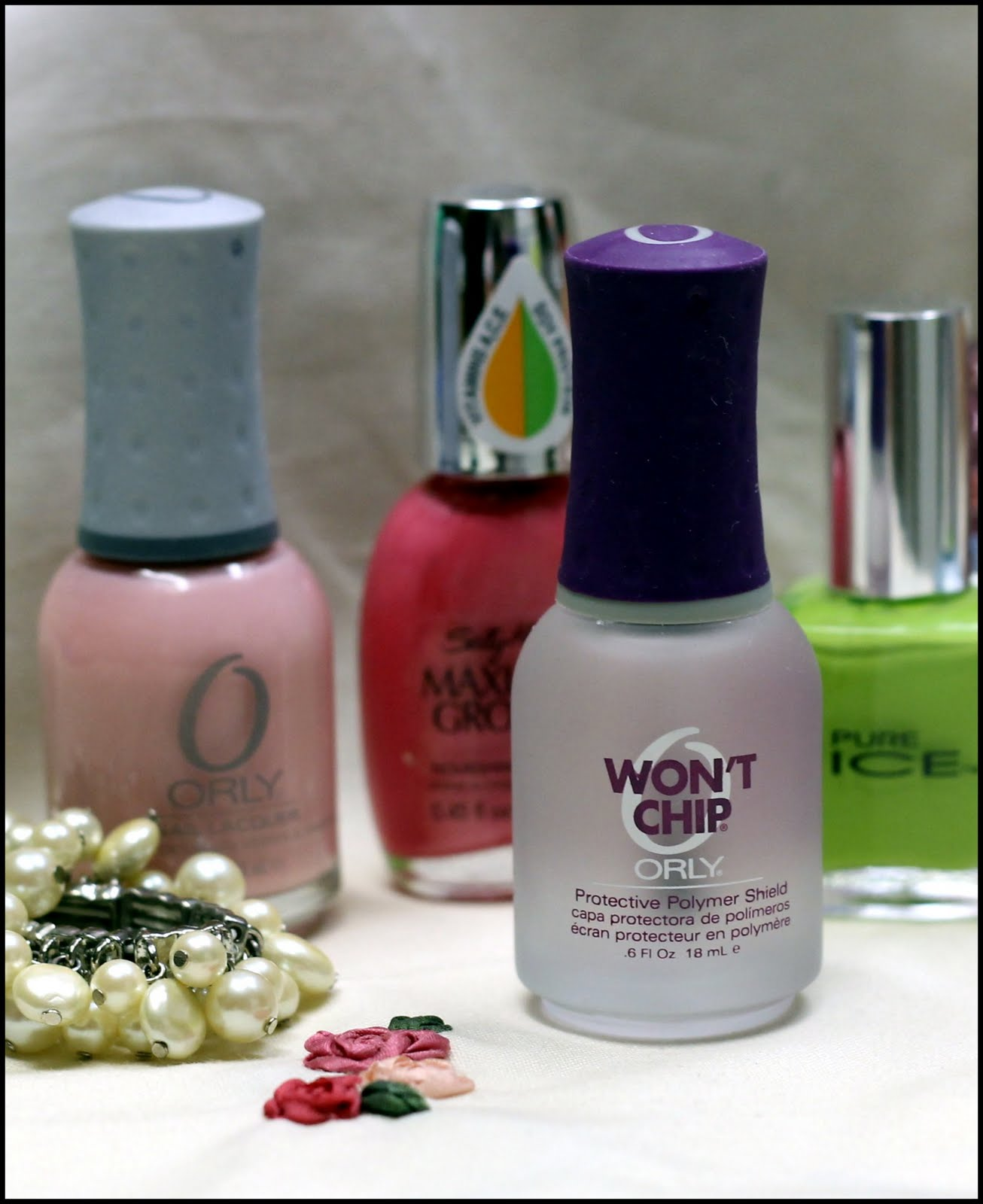 How To Make Nail Polish Not Chip: Scatter Sunshine: Orly Won't Chip Nail Polish Review
