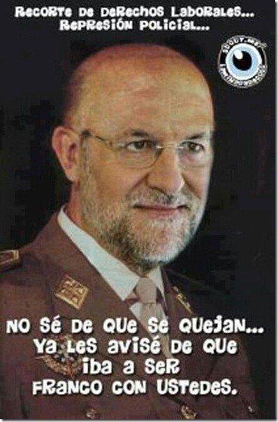 Retrato del franquismo en España