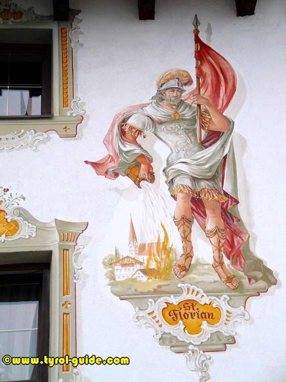 Brian likes mural tattoos fire paintings forward st florian mural 4 1