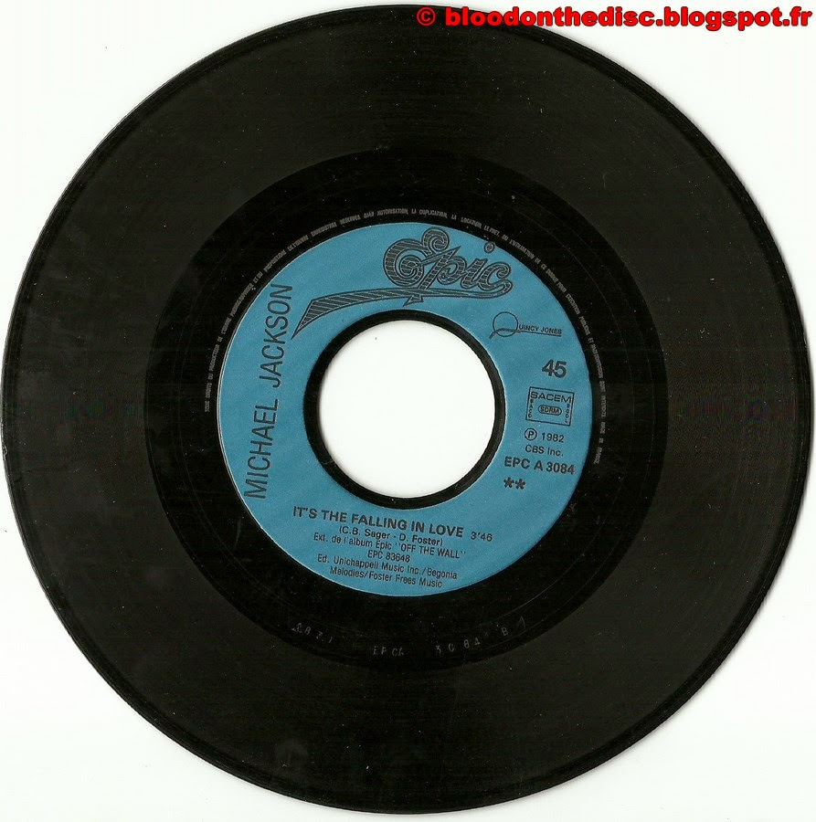 Billie Jean 45T Side 2