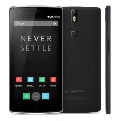 OnePlus+One+Sandstone+Black
