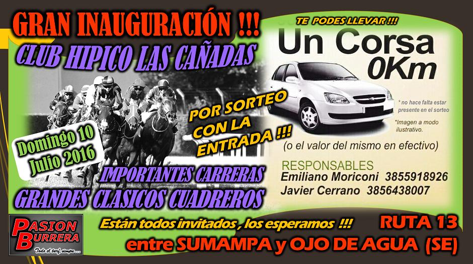 LAS CAÑADAS - 10 DE JULIO