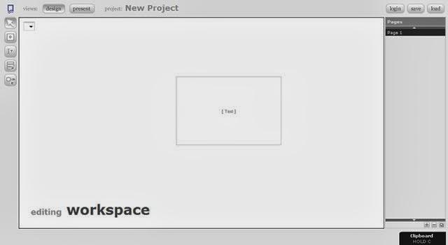 fluidIA Editor Screenshot