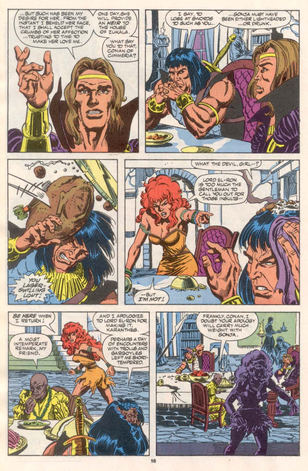 Conan the Barbarian (1970) Issue #242 #254 - English 13