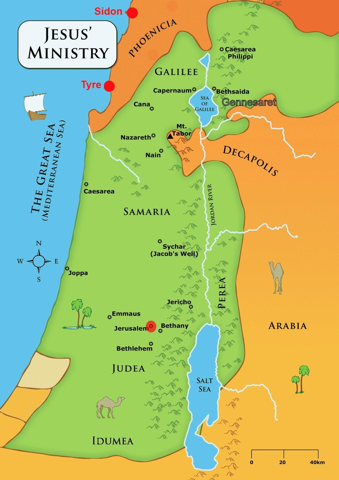 Bible Study - Sidon