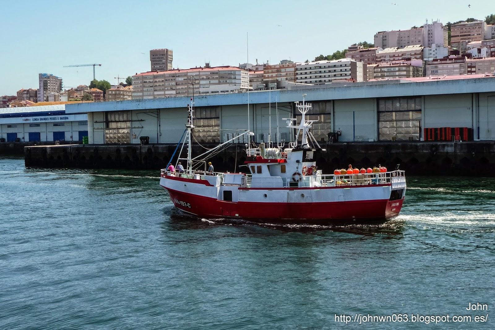 carlos cunha, fotos de barcos, imagenes de barcos, pesquero, vigo