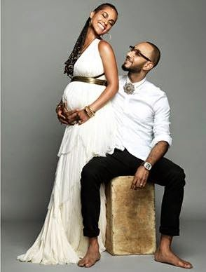 Alicia Keys and husband Swizz Beatz