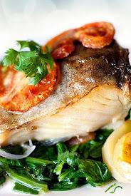 I miei piatti di salmone e baccalà