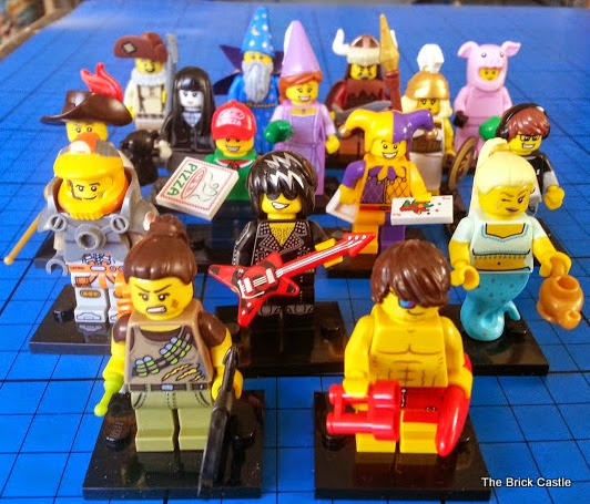 LEGO Series 12 full set of minifigures collection