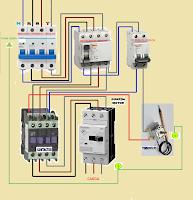 contactor guardamotor con termostato