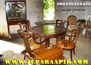 kursi makan meja makan kursi makan jati