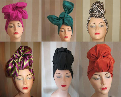 June Ambrose turban collection - iloveankara.blogspot.co.uk