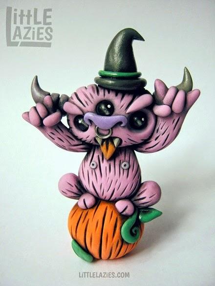 http://www.ebay.com/itm/Belazybub-the-Halloween-Beast-Polymer-Clay-Handmade-Figurine-by-Little-Lazies-/181537292551?