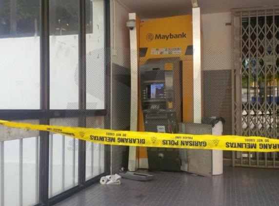 Mampukah kancil bawa lari mesin ATM?