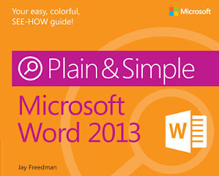 Microsoft Word 2013 Plain & Simple,download all kind of books