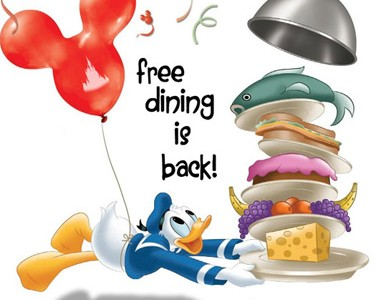 Confessions of a disney dork disney dining free dining How to get free dining at disney