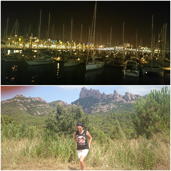 barcelona,łódki,barcelona nocą,espana,barca,hiszpania,góry w hiszpani,hiszpania last minute