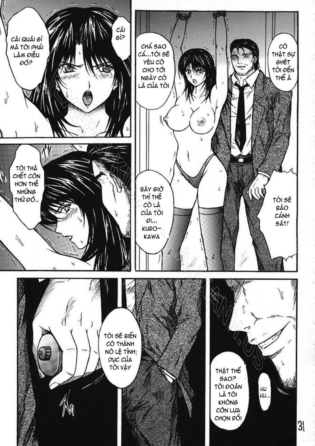 TruyenHay.Com - Ảnh 30 - Ryoujoku Rensa Chapter 2