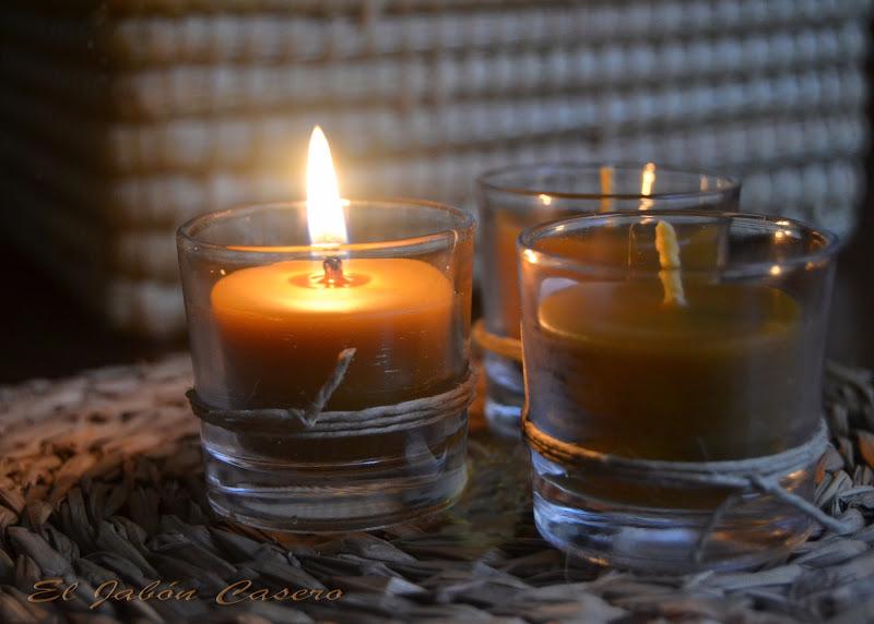 El jab n casero velas de miel regalos personalizados en navidad - Velas de miel ...