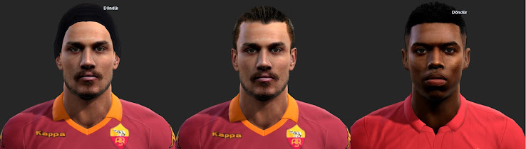 PES 2013 Osvaldo and Sturridge Faces by ilhan