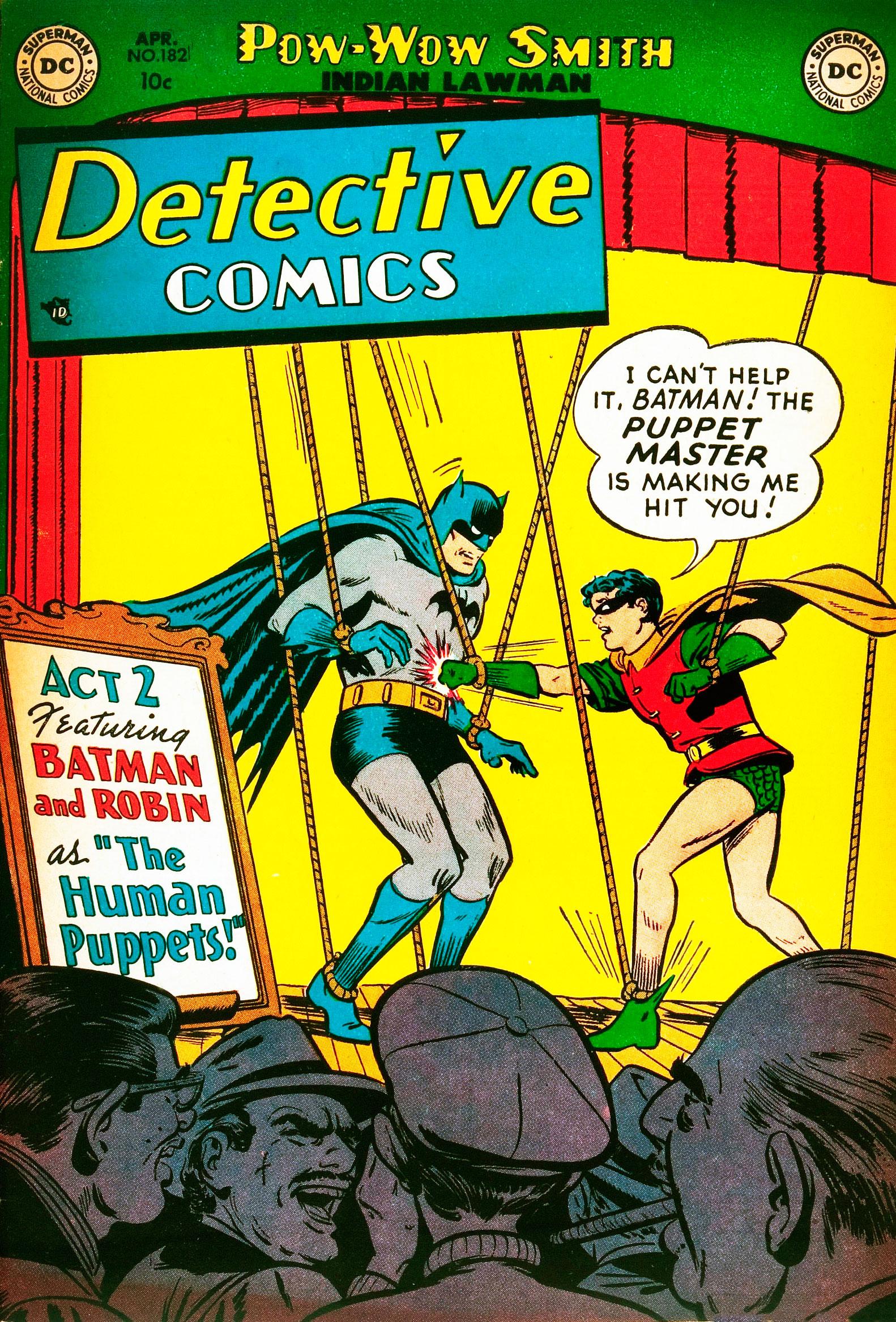 Detective Comics (1937) 182 Page 1
