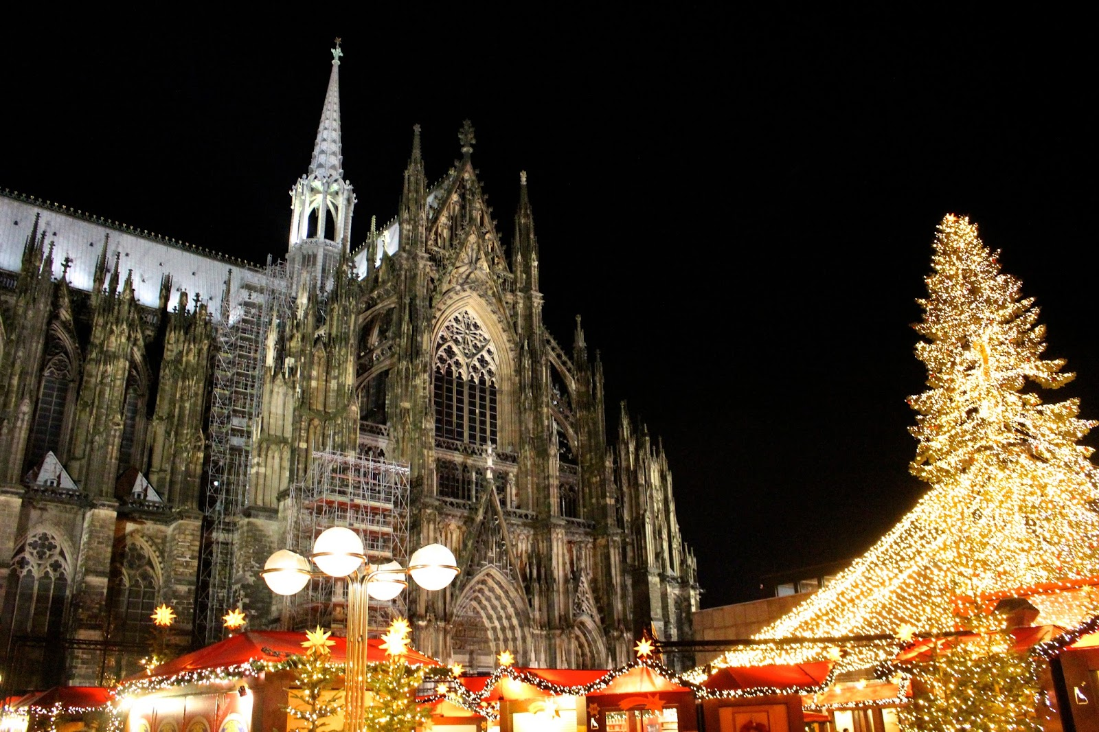 Cologne Dom Cathedral Night
