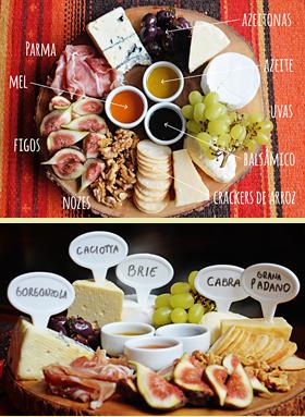 Como incrementar uma degustação de queijos