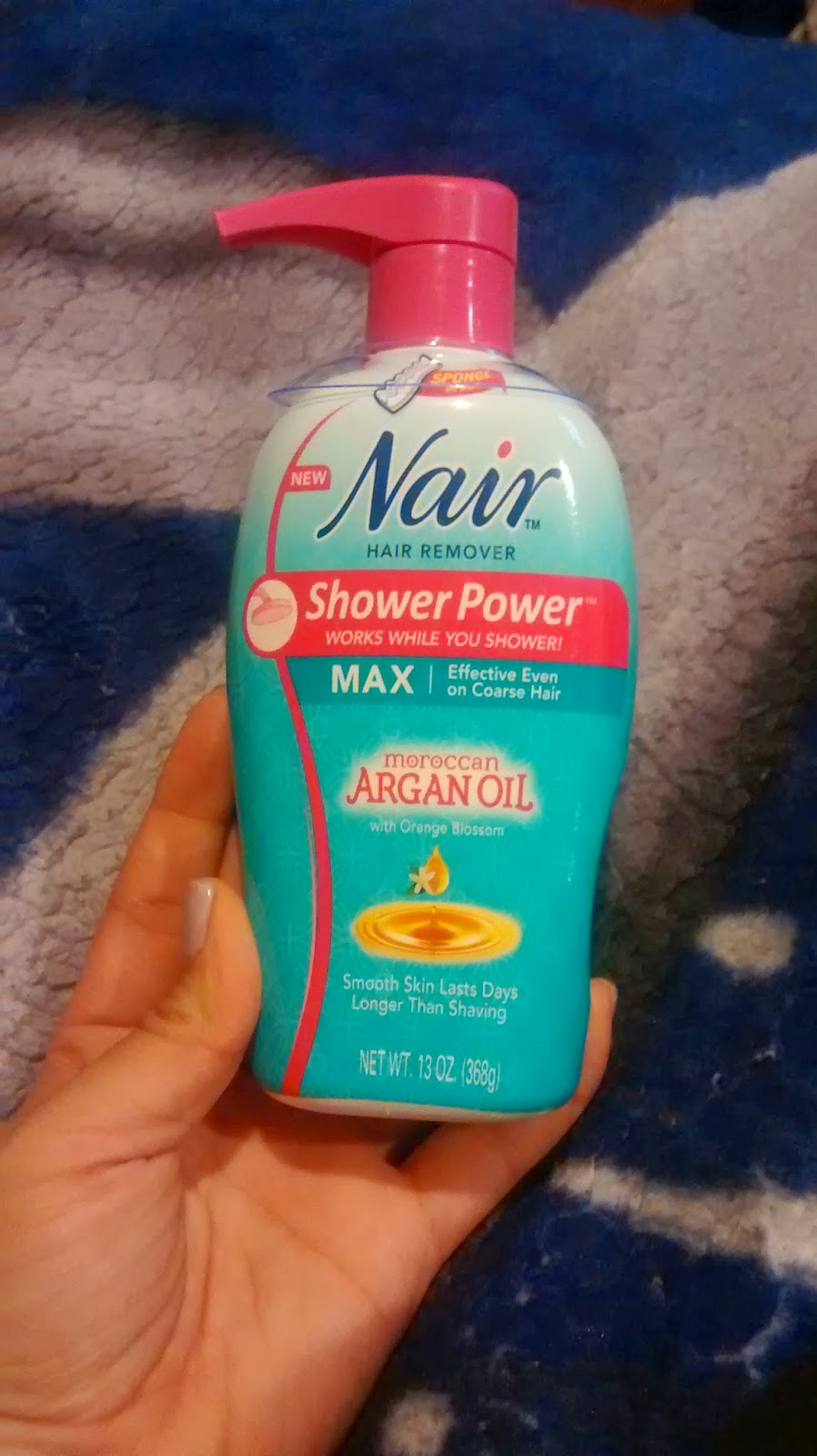 Nair Shower Power Max Argan Oil