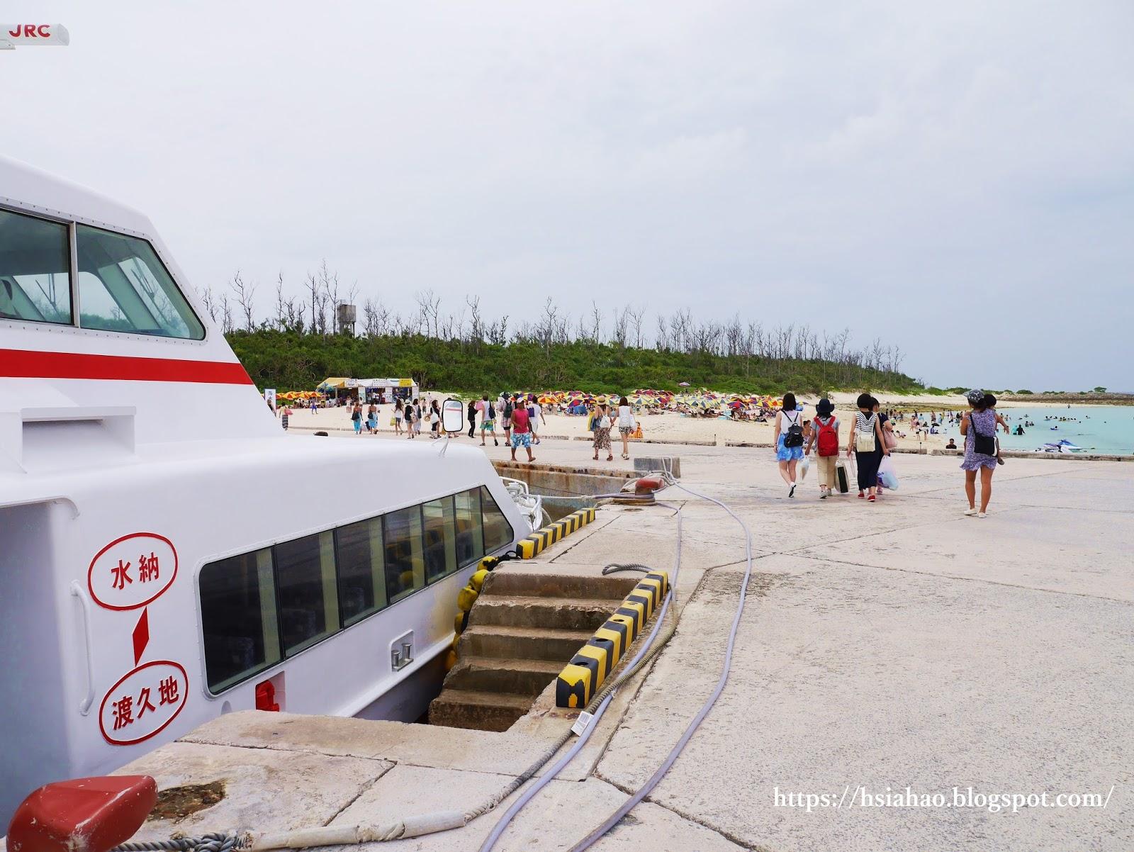 沖繩-景點-水納島-水納海灘-水納ビーチ-Minna-Beach-推薦-自由行-旅遊-Okinawa