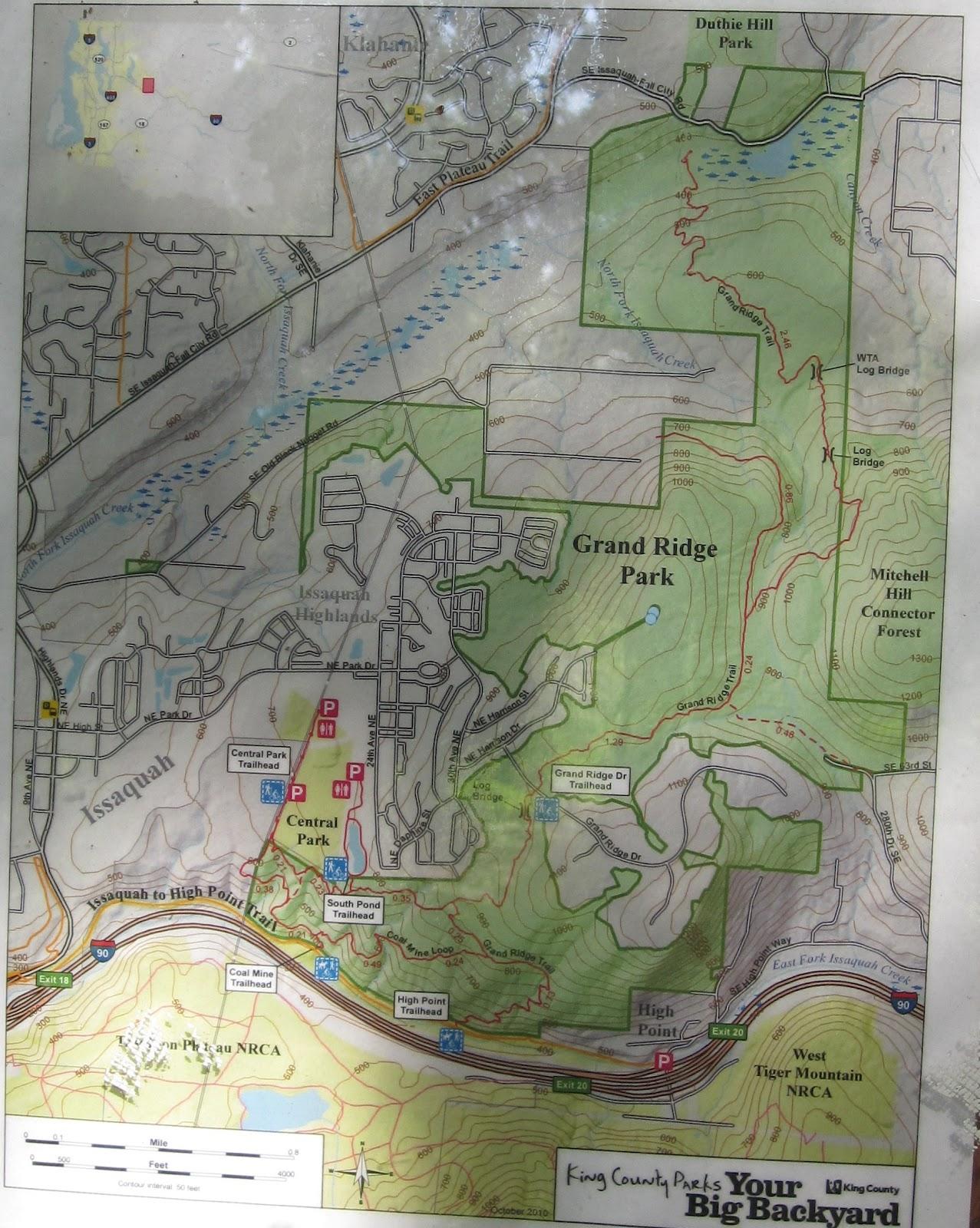 Mike McQuaide: GRAND RIDGE-DUTHIE HILL MOUNTAIN BIKE RIDE on
