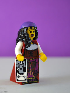 lego fortune teller - i see chaos, hard times and a lot of leg crossing