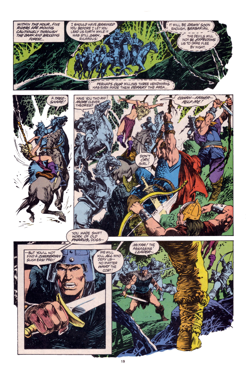 Conan the Barbarian (1970) Issue #261 #273 - English 15