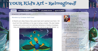 YOUR KID&#39;S ART REIMAGINED BY RAY!