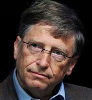 """Foto de Bill Gates, fundador da Microsoft e """"profeta"""" sobre crise no jornalismo impresso"""