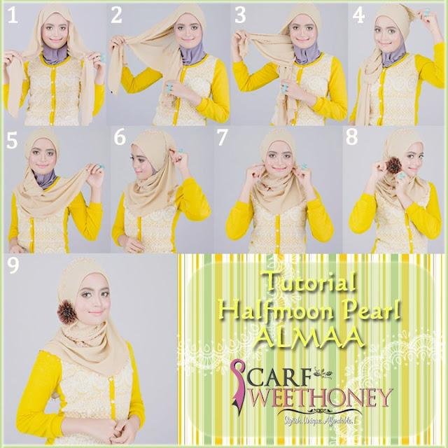 tutorial cara memakai jilbab lengkap terbaru 90 gaya - masuk-islam.com