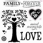 CTMH's September Stamp of the Month - Family Is Forever (S1409)