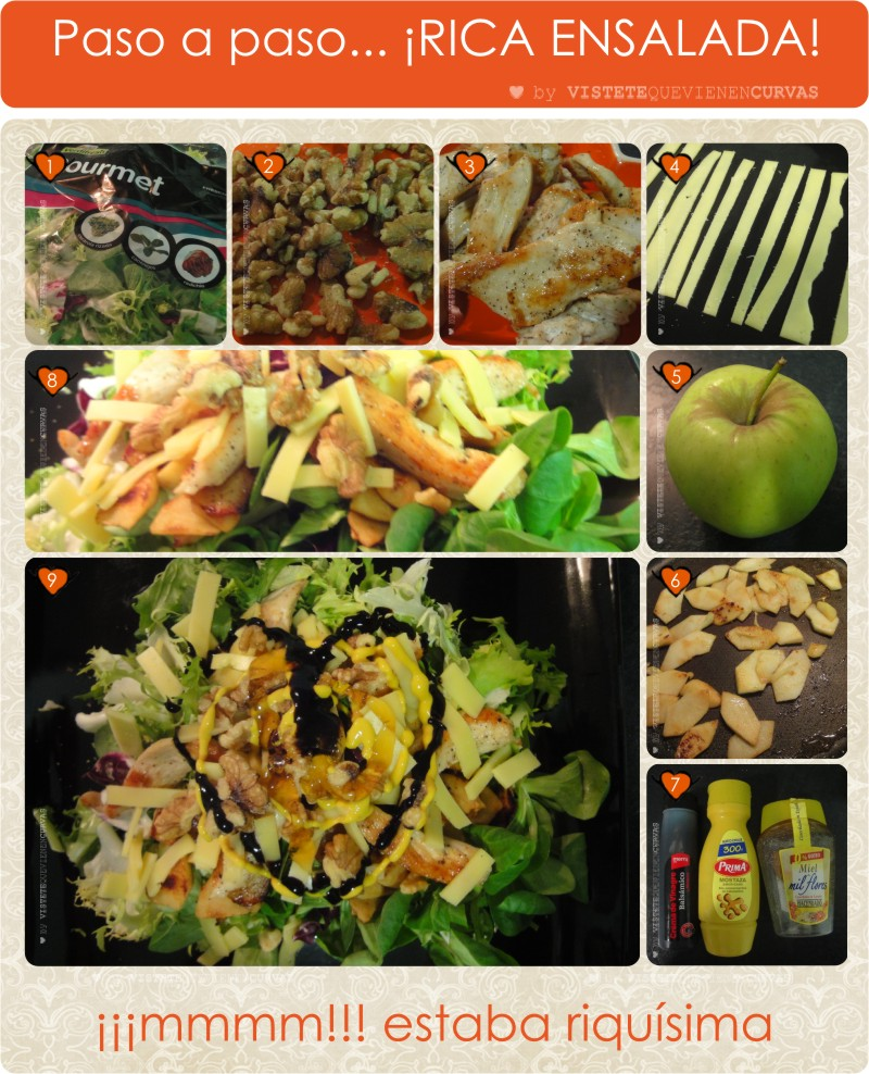 Las recetas de Villa Curvas - ¡La rica ensalada!