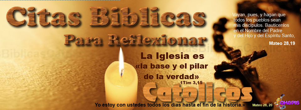 CITAS  BIBLICAS PARA REFLEXIONAR