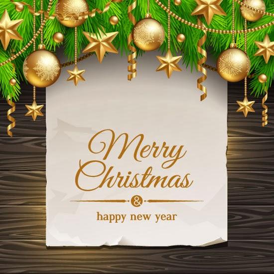 Mensaje de Navidad - Vector