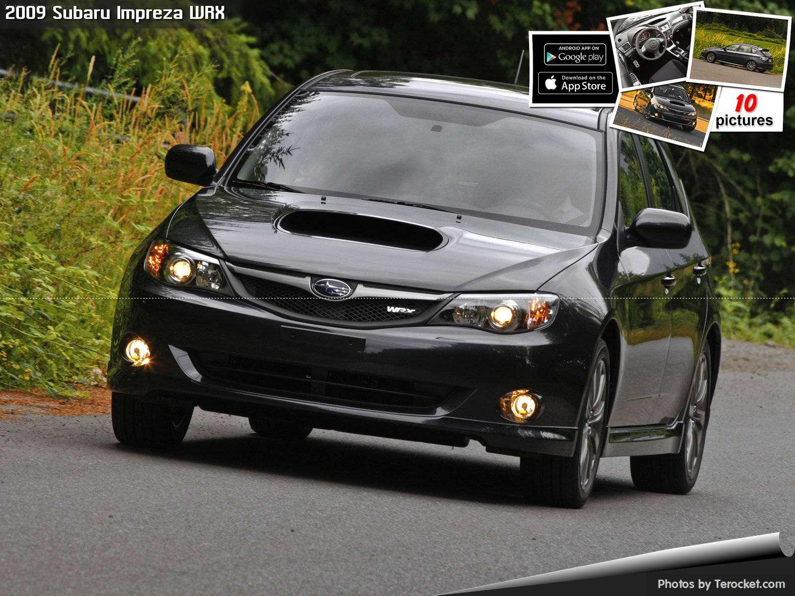 Hình ảnh xe ô tô Subaru Impreza WRX 2009 & nội ngoại thất