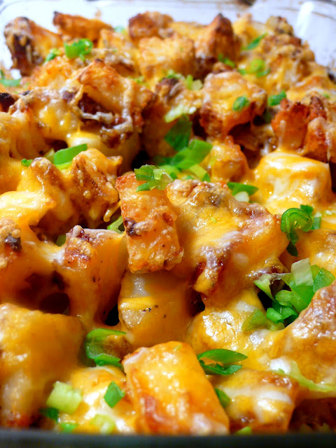 ... Bestest Recipes Online: Roasted Ranch Potatoes with Bacon and Cheese