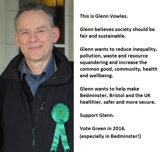 Vote Green in 2016, Bedminster