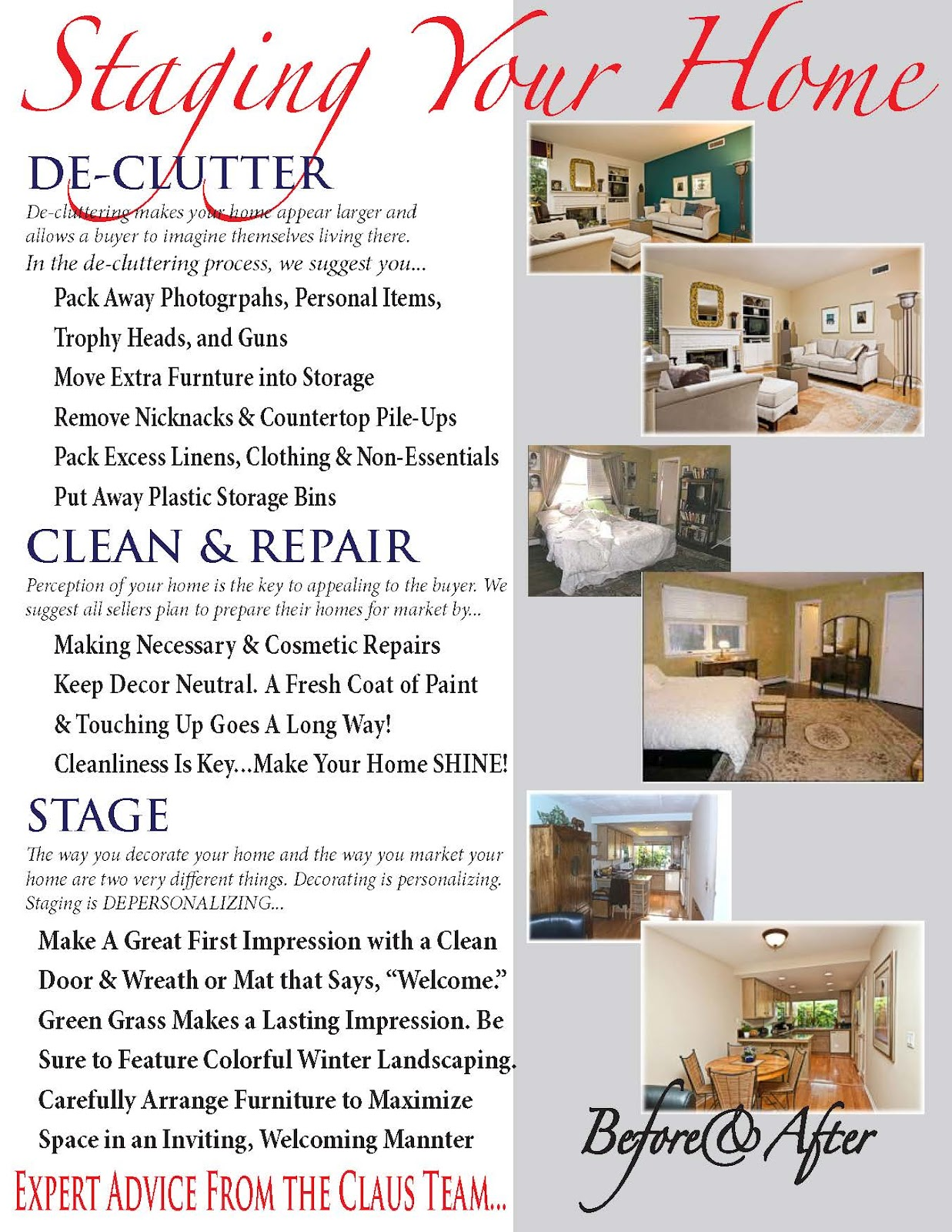 re location matters home staging is a vital part of marketing your property. Black Bedroom Furniture Sets. Home Design Ideas