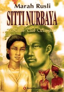 Sampul Sitti Nurbaya
