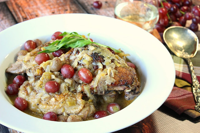 Riesling Braised Chicken