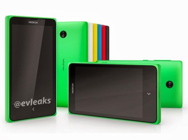 """Spesifikasi Lengkap dan Harga Ponsel Android Nokia X A110 """"Normandy"""""""