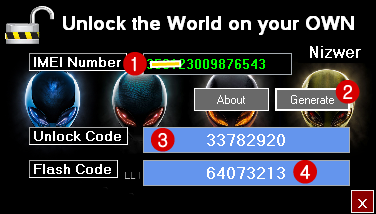 Huawei-Modem-Unlock-Code-Generator