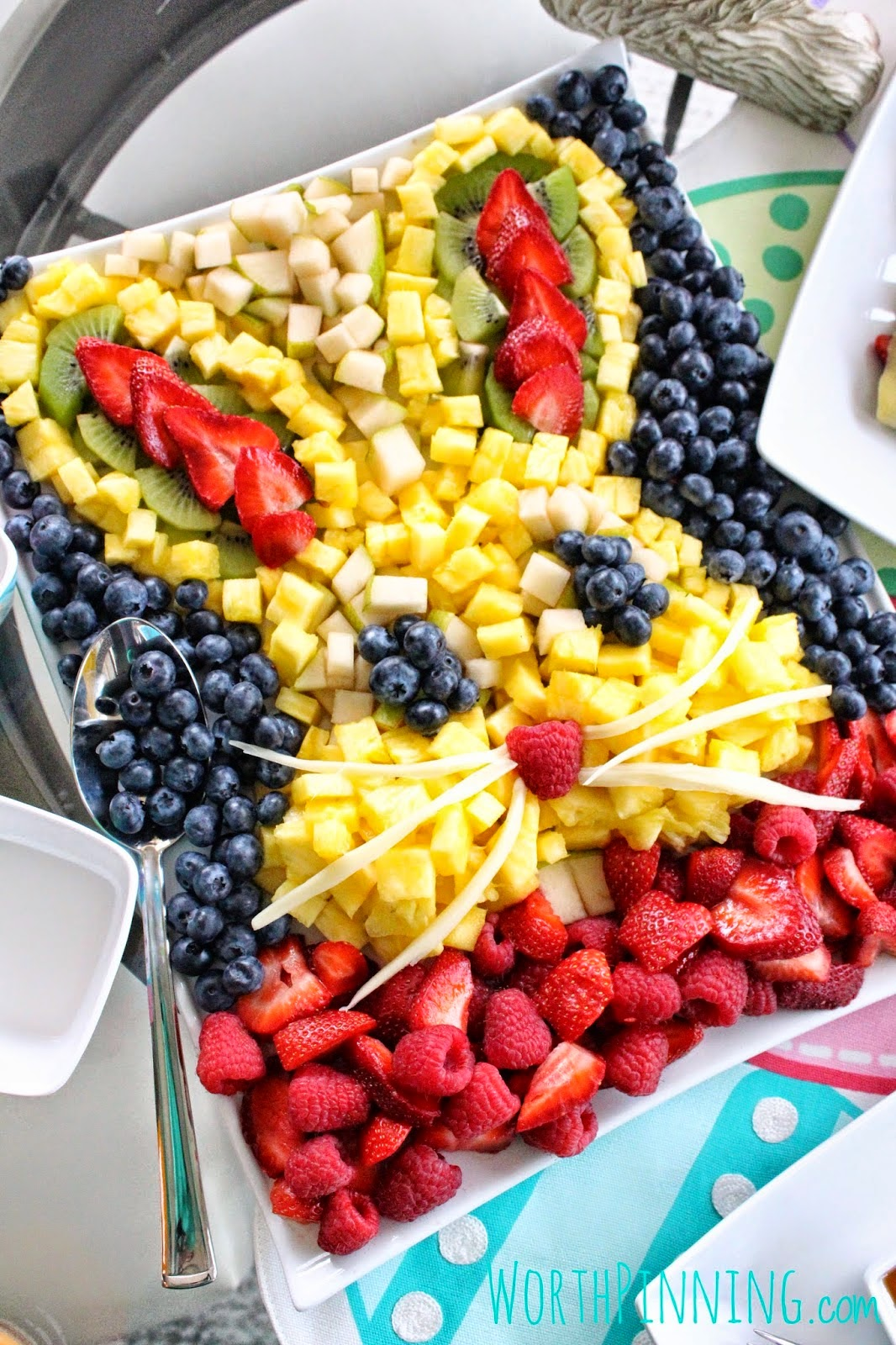 food serving ideals fun fruit bunny party healthy cut cheese
